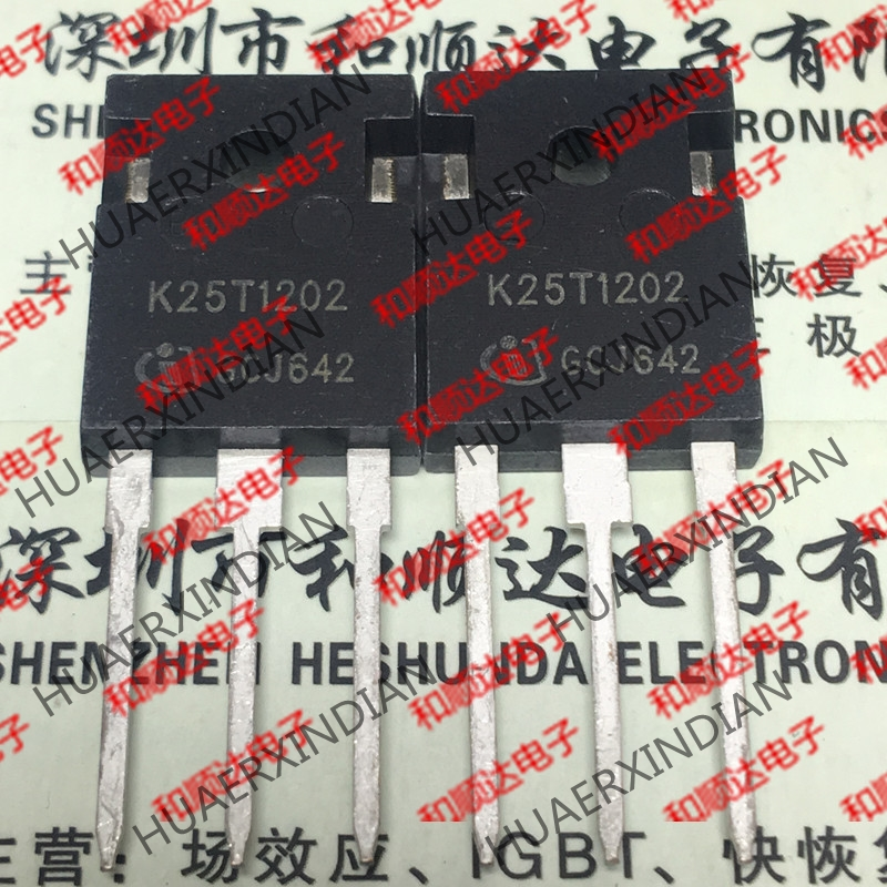 New  Original  K25T1202 IKW25N120T2    TO-247 1200V 25A