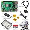 raspberry pi 4 4gb kit  Raspberry Pi 4 Model B PI 4B   Board Heat Sink Power Adapter Case  fan  32GB SD HDMI Cable Gamepad promo