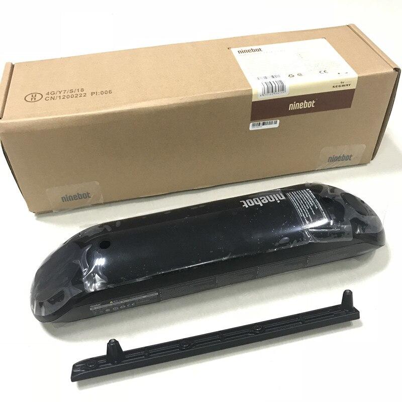 Stock ue Ninebot par Segway ES1 ES2 ES4 batterie externe supplémentaire 187Wh pour Kickscooter Hoverboard Skateboard Kits de batterie en option