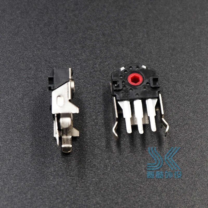 2 قطعة TTC الأصلي ماوس التشفير عالية الدقة 9 مللي متر الأحمر الأساسية حل sensei الخام منافس 100 310 g403 G603 G703 الأسطوانة عجلة مشكلة