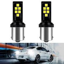 2X LED P21W canbus Car Rear Backup Reverse Light Bulb BA15S 1156 Auto Signal Lamp for Audi A3 8P A4 B6 B8 A5 A6 C5 C6 Q5 Q7