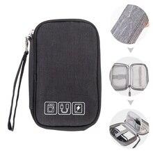 """2,"""" жесткий диск сумка Портативная Защитная сумка для жесткого диска/наушников/USB флэш-диск/мощность банковская Сумка/Сумка для электроники"""