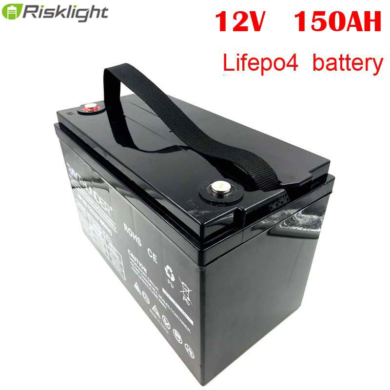 Deep Cycle Power <font><b>Lifepo4</b></font> <font><b>12V</b></font> <font><b>150ah</b></font> Lithium Ion Battery Packs For RV/Solar System/Yacht/Golf Carts Storage/Car image