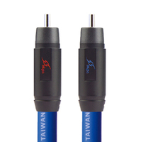 HiFi MPS M 75R 99.9997% OCC 75ohm coaxial cable Audio wire RCA BNC audio cable 24K rhodium Plated Plug connectors