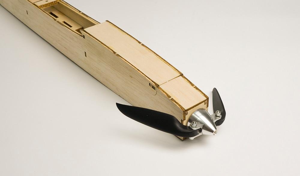 折叠桨安装效果