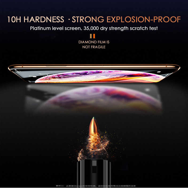 200D полное покрытие из закаленного стекла для iphone 11 Pro X XR XS MAX glass iphone 11 Pro защита экрана защитное стекло на iphone 11