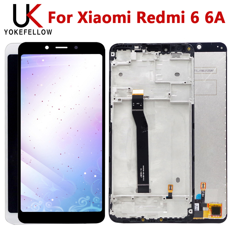 Tested Touch Screen For Xiaomi Redmi 6 6A LCD Display With Touch Screen Assembly