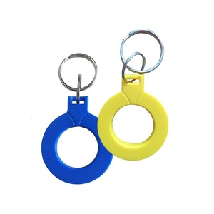 5pcs Ntag216 NFC Tags Key Token 13.56mhz RFID 868 Bytes Card Label Keychain for All NFC Android Phone