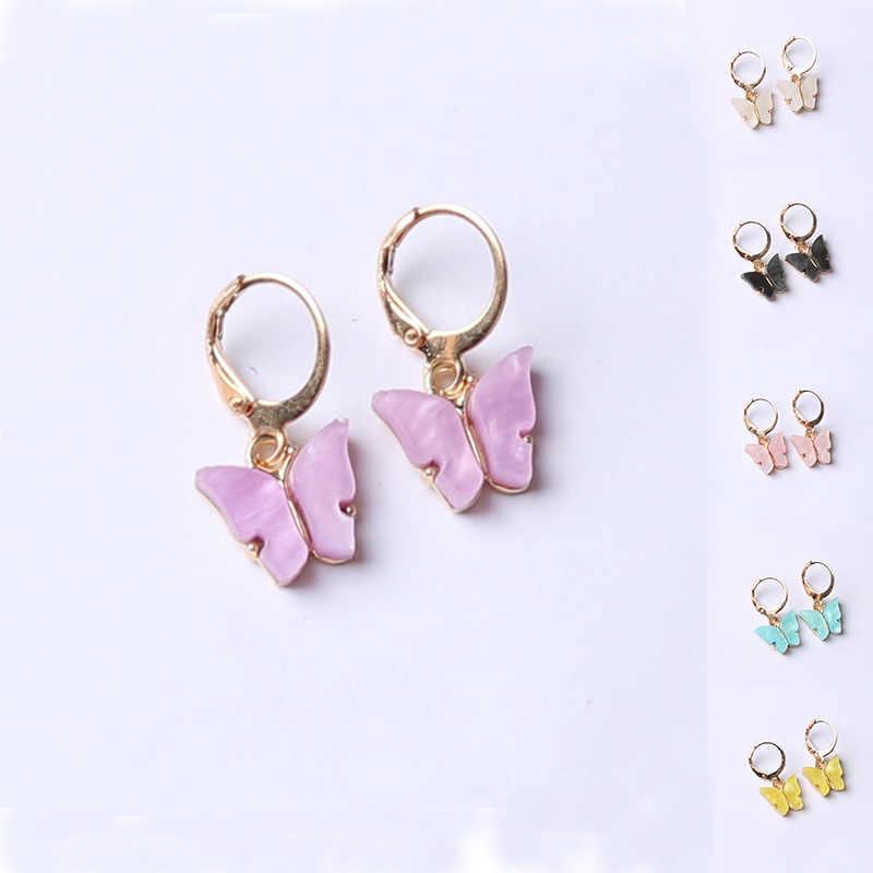 Acrylic Butterfly Earrings
