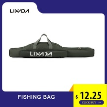 Lixada Fishing Bag 100/130/150cm Portable Oxford Cloth Rod Cover Tackle Storage Tools Carry Backpack Travel