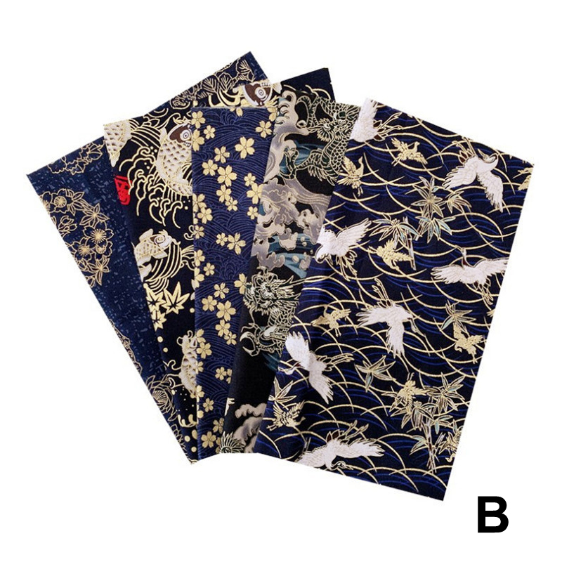 ¢Top SaleCloth Fabric Patchwork DIY Printed Japanese-Style Thicked 10pcs/2set