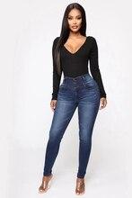 Mode jean slim femmes maman jean pantalon petit ami jean pour femmes taille haute Push Up grande taille dames crayon jean Denim 2020