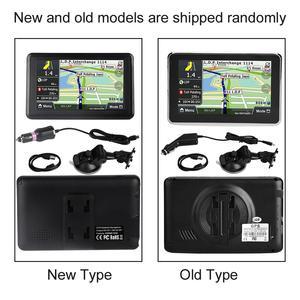 Image 5 - أداة ملاحة للسيارة مزودة بنظام تحديد المواقع DDR256M 8G MP3 FM خريطة أوروبا 508 ملحقات السيارة شاشة لمس 5 بوصة عالمية