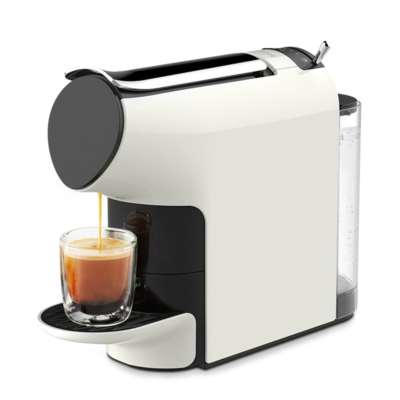 2020 New 580ml SCISHARE Smart Coffee Machine 9 Level Concentration Capsule Espresso Compatible For Household Office