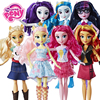 My little pony Toys Equestria Girls Rainbow move Twilight Action Figures Classic For Baby Birthday Gift Girl Bonecas