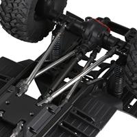INJORA Metal Heavy-Duty Drive Shaft for 1/10 RC Crawler Car Axial SCX10 90046 AXI03007 TRAXXAS TRX-4 TRX-6 Redcat Gen8 D90 TF2 6