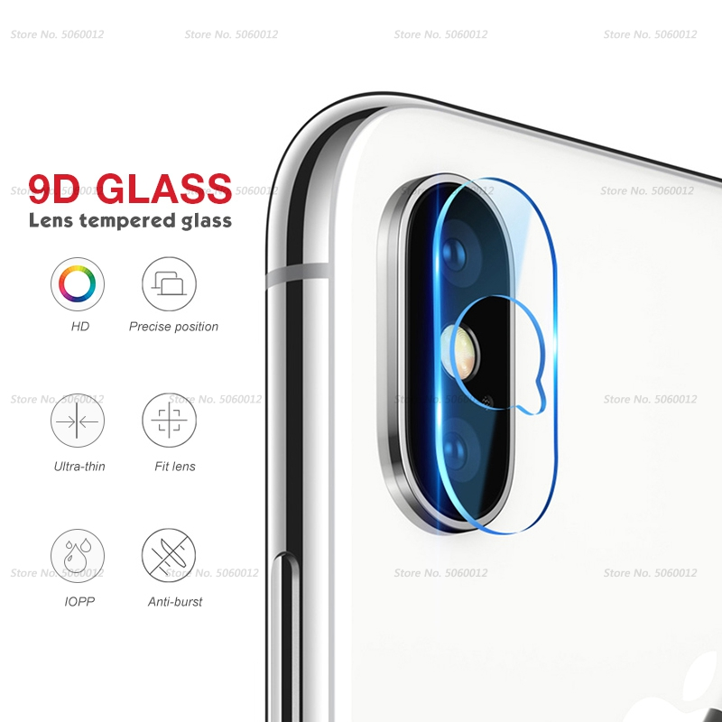 Ultra Thin Back Protective Camera Lens For iPhone XS XSMAX XR X 6
