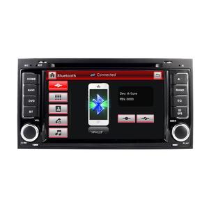 Image 2 - 2 din 7 inch Car  DVD VW Touareg Multivan (2002 2010) GPS 3G Bluetooth Radio RDS USB Steering wheel Canbus Free 8G MAP Camera