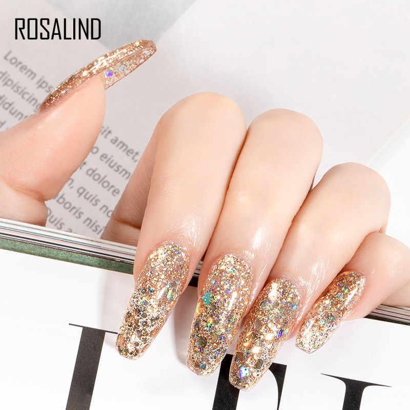 Rosalind Gel Polish Semi Permanente Uv Lamp Gel Vernissen Voor Nail Art Manicure Set Lak Nodig Base Top Coat Gel nagellak