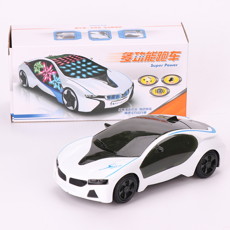 Electric Universal 3D Light And Music Car Concept Car Model CHILDREN'S Toy Car Stall Hot Selling Supply Of Goods