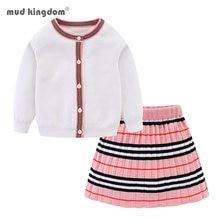 Зимний комплект детской одежды для девочек свитер с длинным