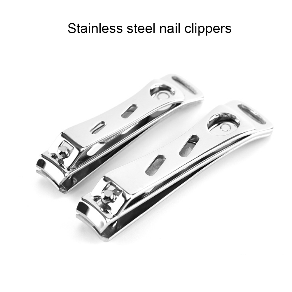 2 Pcs Nail Clipper 1PC Nail Clippers High-grade Stainless Steel Sanding Trumpet Cute Manicure Cutters Nail Scissors Tools