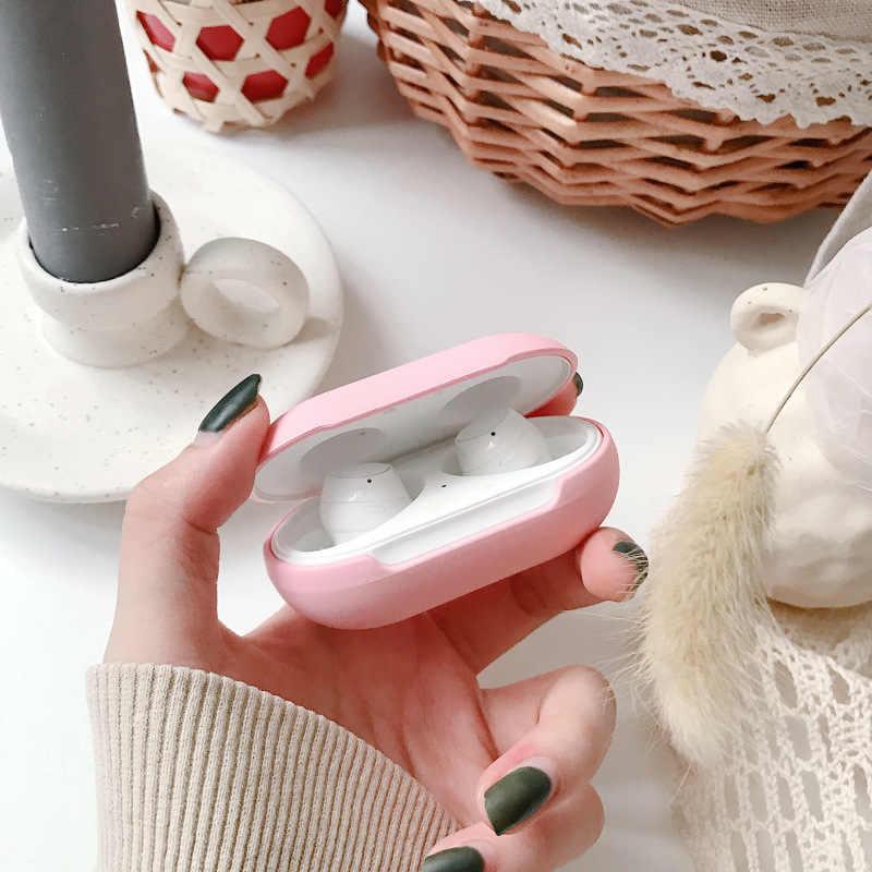 Silikon TPU Case untuk Samsung Galaxy Tunas Plus Bluetooth Earphone Headset Cover untuk Galaxy Tunas Tas Shockproof