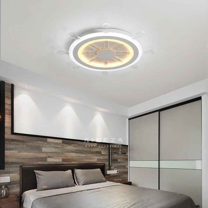 Nowoczesne lampy sufitowe LED akrylowe steru lampy sufitowe do salonu sypialnia lampy sufitowe Home Decor twórcze światło lampy