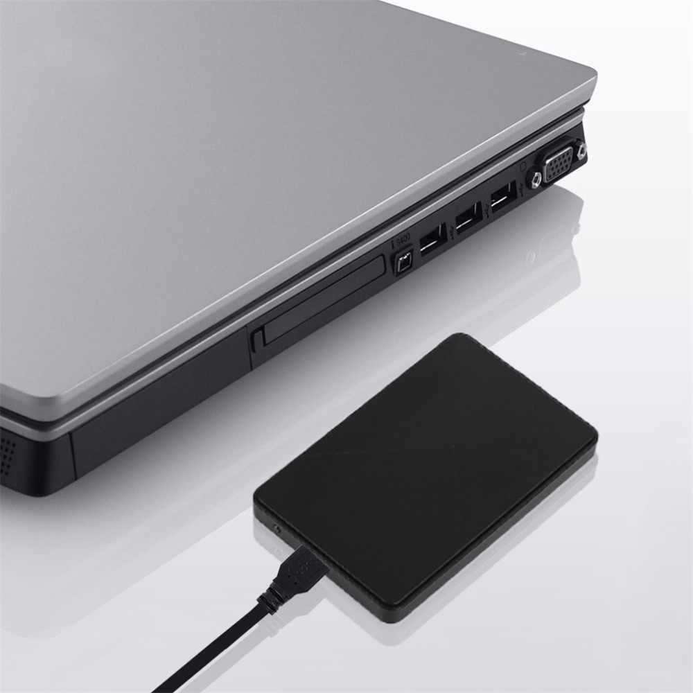 عالية السرعة USB 3.0 القرص الصلب الخارجي الضميمة حالة 2.5 بوصة SATA قالب أقراص صلبة ABS صندوق للحصول على قرص صلب دعم 3 تيرا بايت