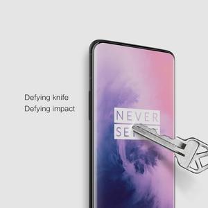 Image 5 - NILLKIN temperli cam İnanılmaz 3D 9H CP + MAX tam anti patlama cam ekran koruyucu için OnePlus 7 pro стекло