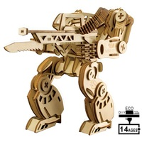 3D Wooden Hand made 217Pcs AMP Powersuit City Robot Model Kids Educational Toys DIY Paper Puzzles Toy Jigsaw Children Gifts
