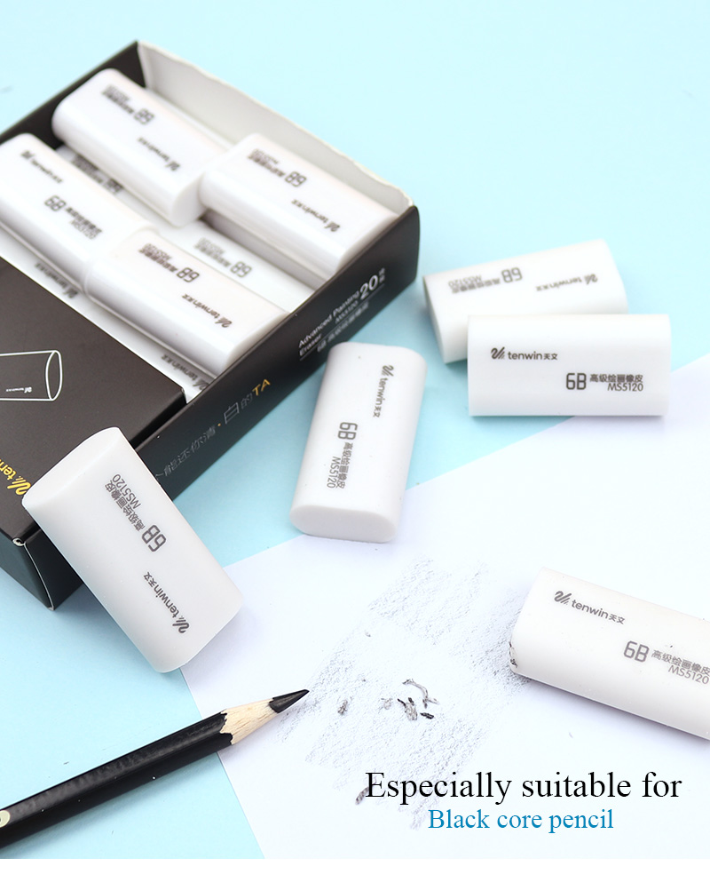 Eraser student stationery school supplies office equipment