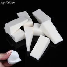 8/12/24 uds/Set triángulo esponja suave para maquillaje base correctora para la cara crema en polvo mezcla manchas Puff herramienta cosmética