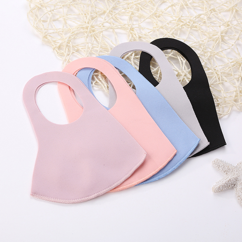 Popular Stereo Mask Ultra-thin Trendy Sponge Mask Washable Pollen Dust-proof Sunscreen Mask