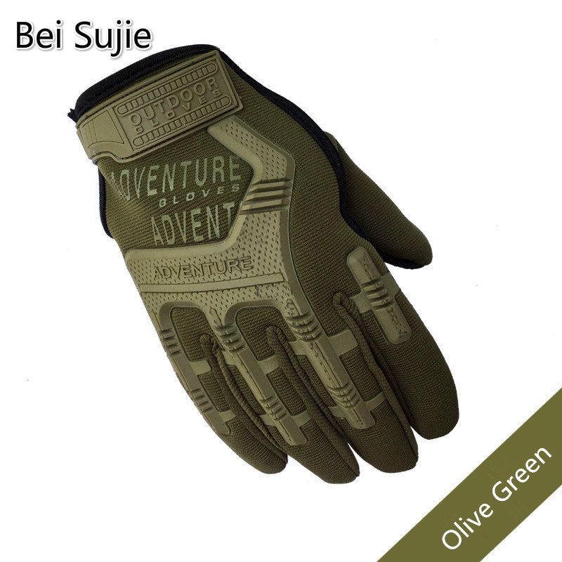 Army Combat Tactical Camouflage Full Finger Gloves For Paintball SWAT Military Gloves Soldier Shoot Bicycle Gloves Handschoenen