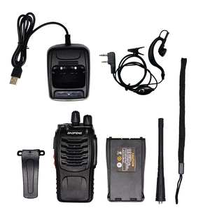 Image 5 - 4pcs Baofeng BF 888S Walkie Talkie UHF 5W 400 470MHz Palmare Radio A due Vie hf Ricetrasmettitore FM Comunicador Ham Radio CB BF 888s