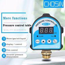 Bomba de ar automática, compressor de óleo de água, interruptor de pressão digital, controlador de pressão eletrônica para bomba de água