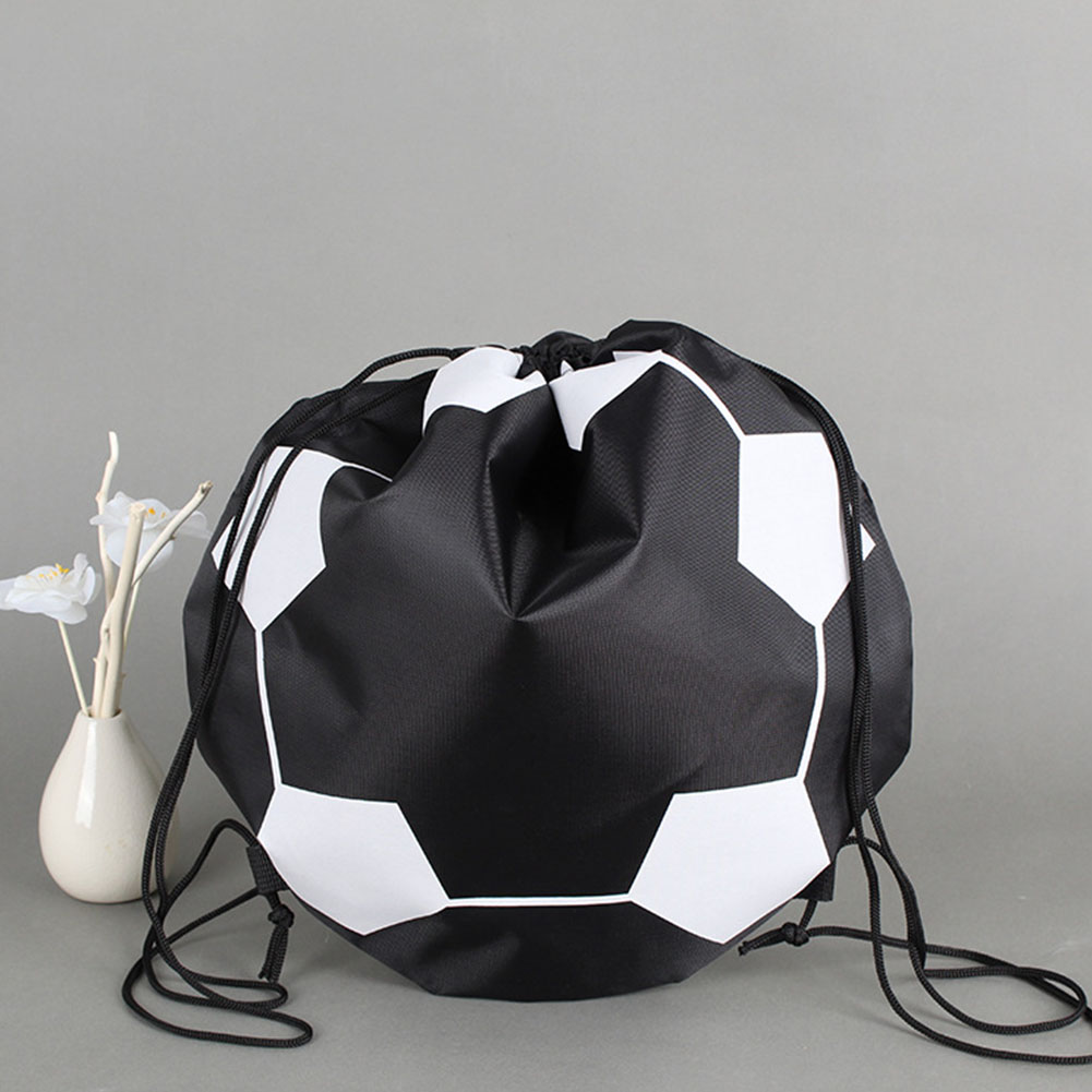 Dustproof Drawstring Closure Durable Sport Training Carrying Anti Scratch Protection Soccer Bag Undeformable Storage Pouch
