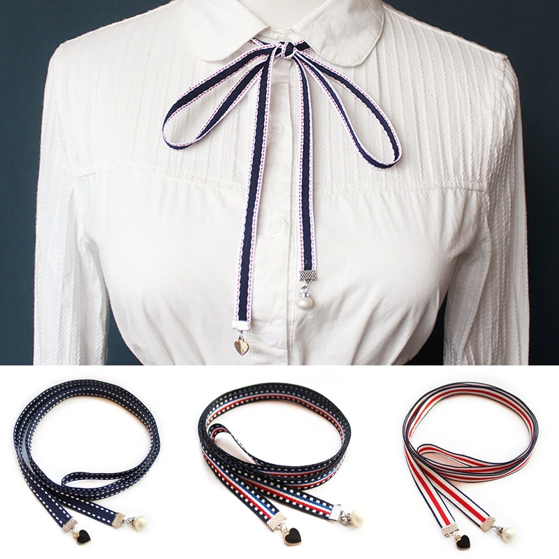 Cotton Necktie Bow Tie Shirt Women's Unisex Classic Trendy Fashion Simple College Style Bowtie High Quality Top Grade Gifts