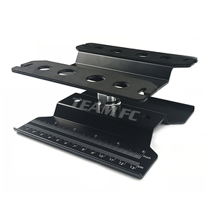 Image 4 - 360 nero breve banco di lavoro stazione di riparazione piattaforma di montaggio ascensore o inferiore per 1/8 scala 1/10 RC Model Car TRX4 Axial S26