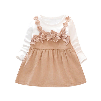 Newborn Dress Infant Baby Clothes Girl Clothing Lace Princess Party Long Sleeve Dress Baby Spring Autumn Girls Dresses 6M- 3T girl dress baby clothing spring autumn new style floral girl princess dress in long sleeve retro