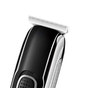 Image 4 - Zero overlap professional hair trimmer beard trimer for men car USB electric stubble cutter hair cutting machine hair cut