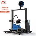 Большой принтер с двумя осями Z двигатель Anet A8 Plus Настольный FDM DIY 3D принтер 3D комплект 8 Гб микро SD карта офлайн принтер Prusa i3