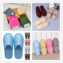 2019 New Simple Unisex Slippers Hotel Travel Spa Portable Men Slippers Disposable Home Guest Indoor Cotton Fabric Men Shoes стоимость
