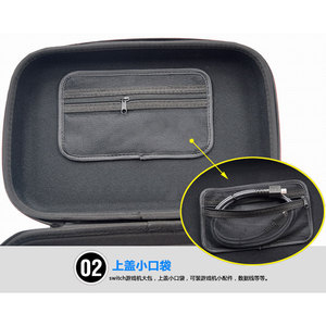 Image 3 - Multifunction Hard Case for Nintend Switch NS Console Storage for Nitendo Switch Accessories Big Capacity Travel Carrying Bag
