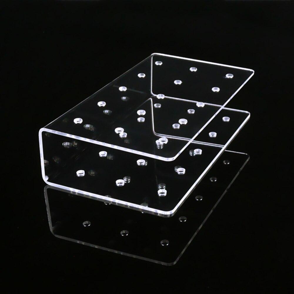 New DIY Transparent 21 Holes Rectangular Cake Party Holder Displays Stands Lollipop Candy Holder Wedding Party Holder