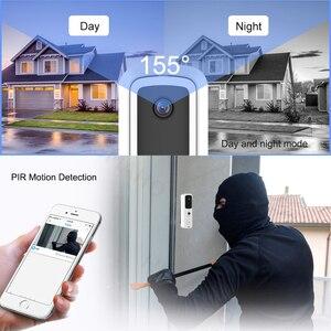 Image 3 - Video Doorbell 1080P HD WIFI Doorbell Camera Intercom Outdoor 720P Wireless Smart Home Security Monitor IR Night Vision