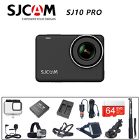 Original SJCAM SJ10 Pro Action Camera Supersmooth 4K 60FPS WiFi Ambarella H22 Chip Sports Video Camera 10m Body Waterproof DV