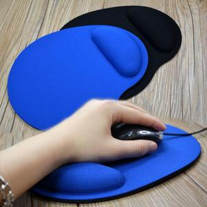 Dropshipping Small Feet Mouse Pad Computer Game Creative Solid Color Environmental EVA Wristband Comfortable Mouse Pad
