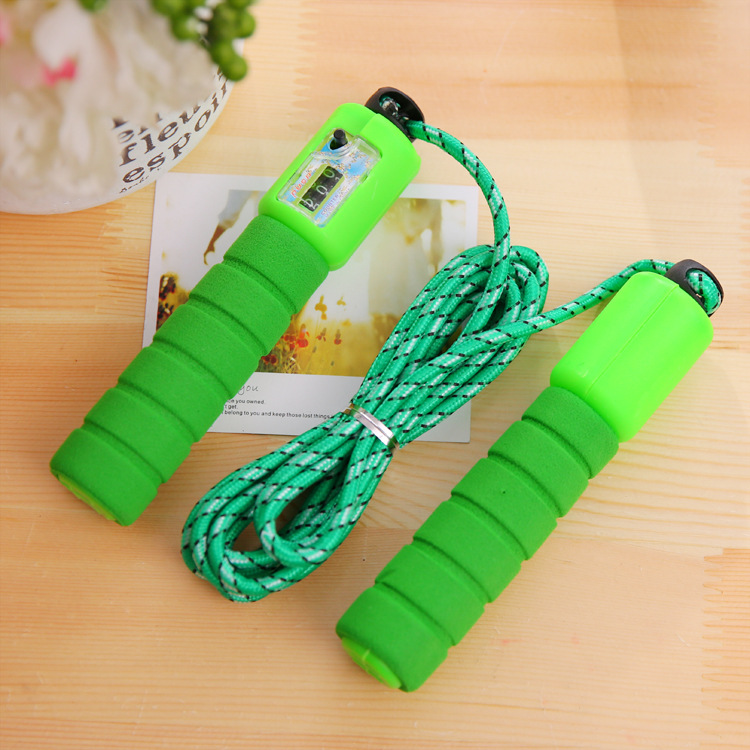 Electronic Counting Jump Rope The Academic Test For The Junior High School Students Figure Tiaoshen Rope Young STUDENT'S Childre